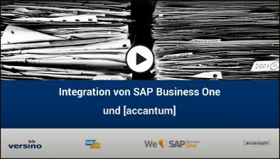 [accantum] DMS und SAP Business One Schninttstellen