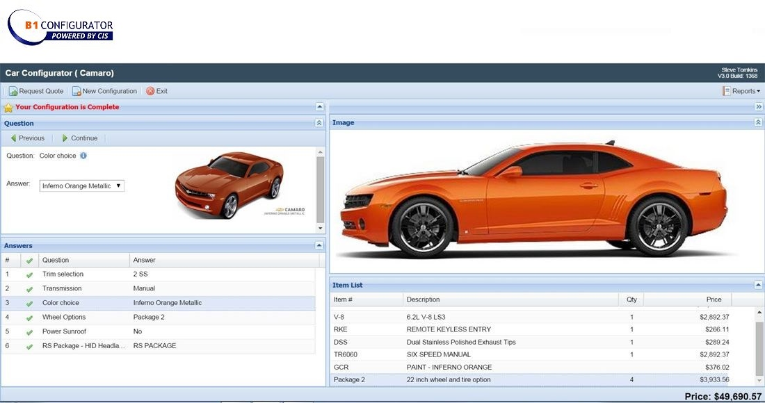 B1 Configurator, can you do without? - Picture Blog