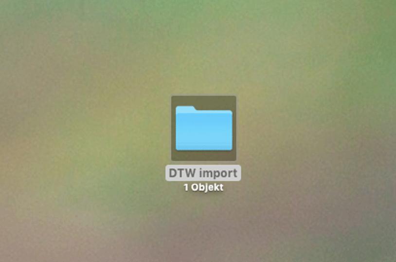 local folder on your Mac