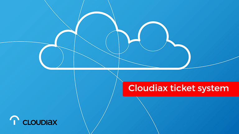 Video Cloudiax ticket system