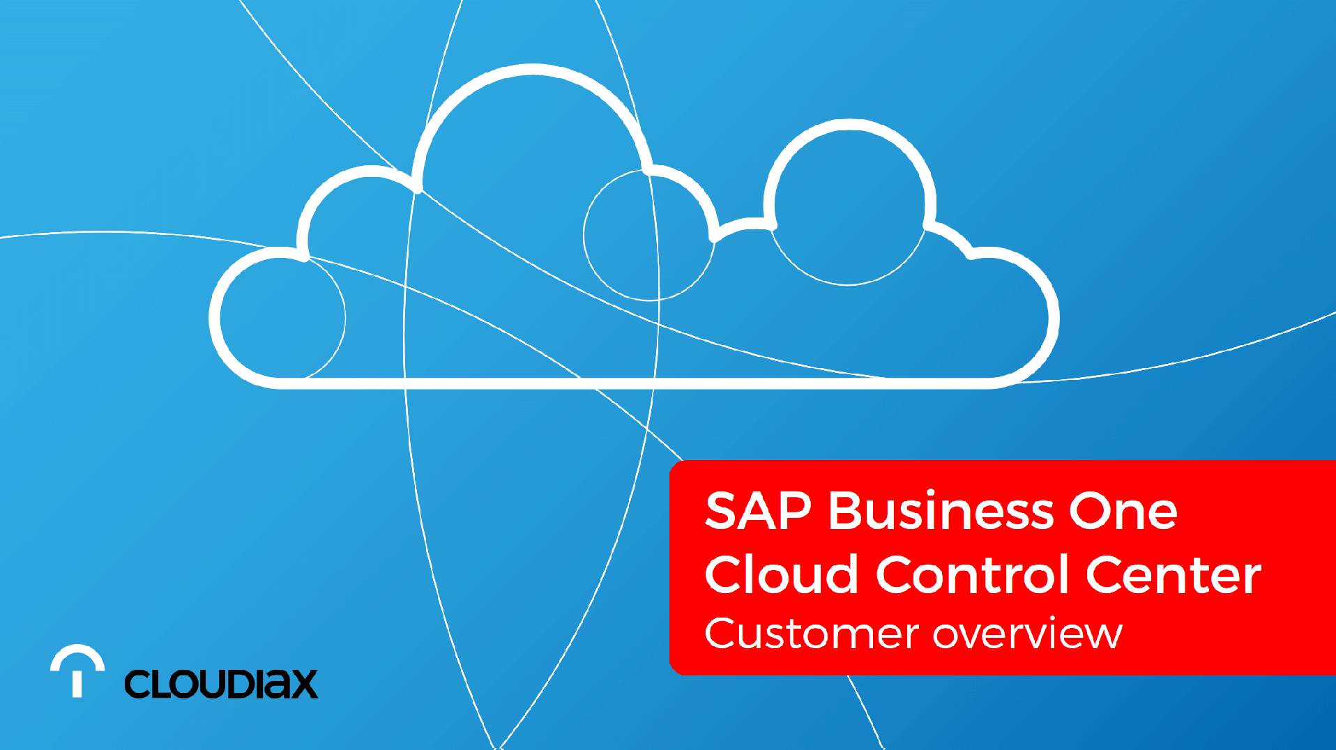 SAP Business One Cloud Control Center - Customer overview
