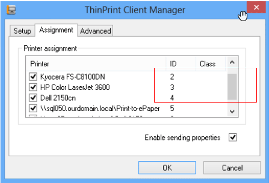 Thinprint-Client-Manager