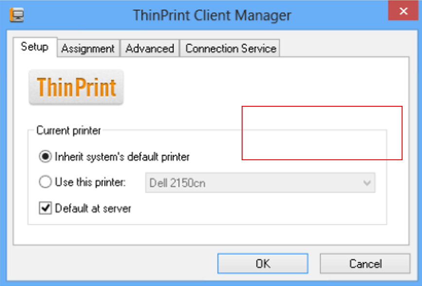 default-printer