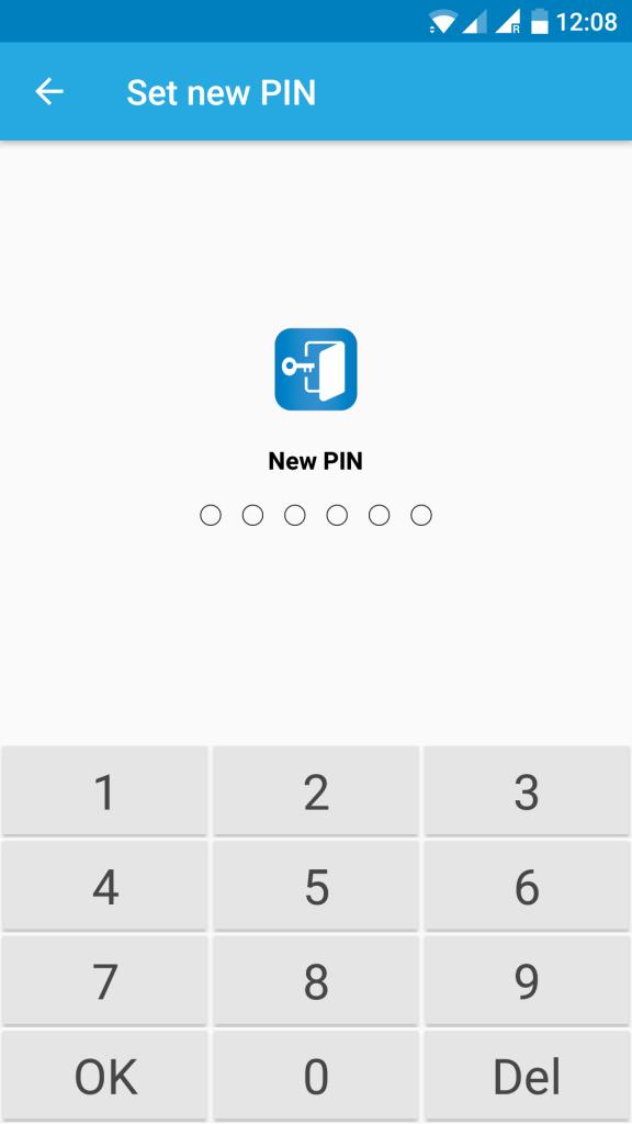 configure pin