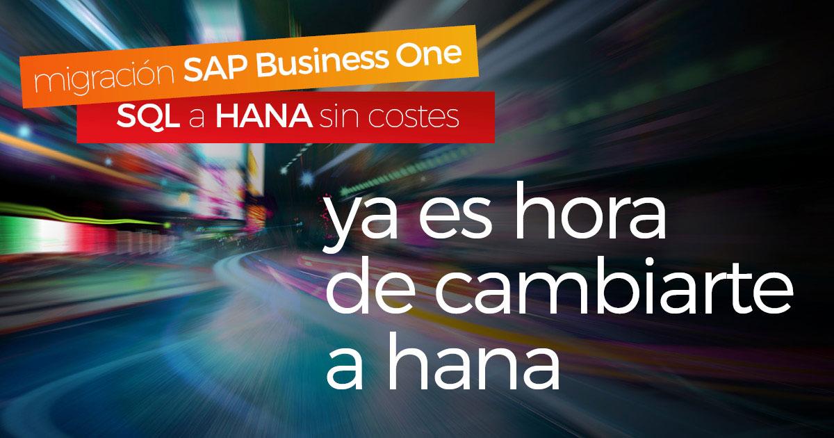 Las ventajas de migrar de MS SQL a SAP Business One HANA en la nube - blog picture