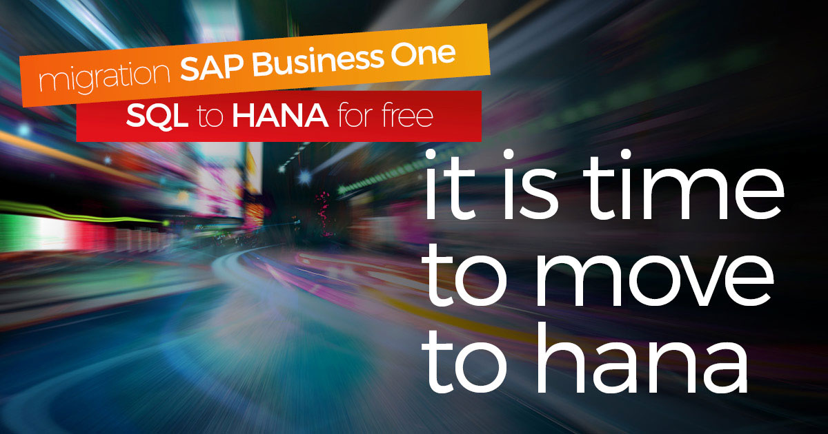 Benefits of migrating from SAP Business One SQL to HANA on the cloud - Picture Blog