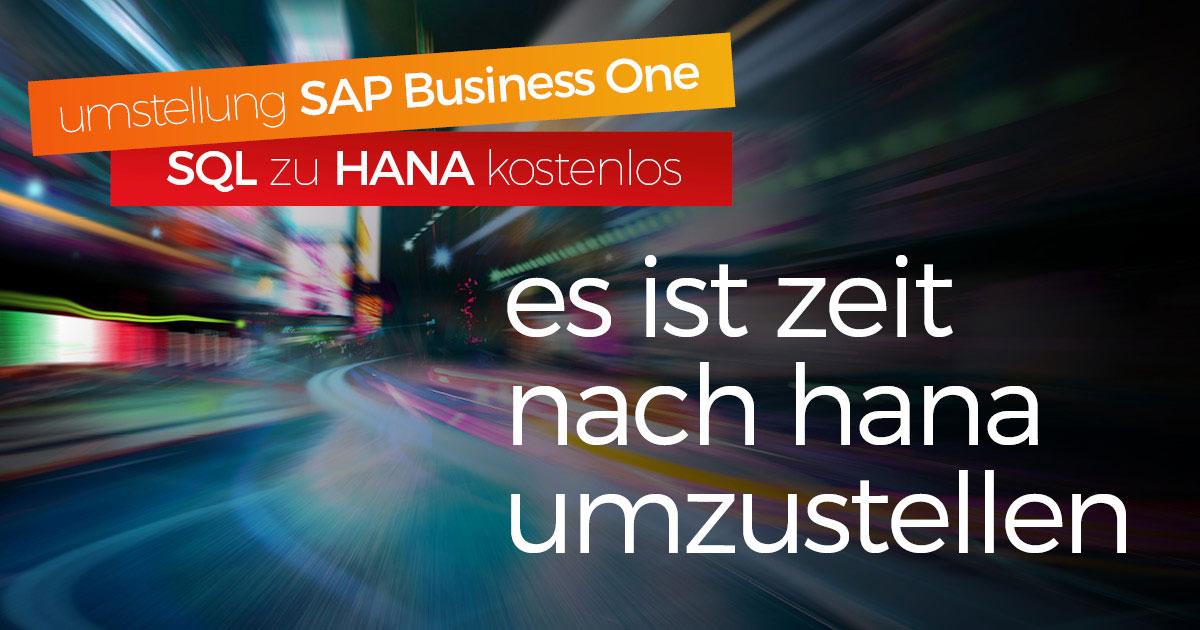 Vorteile der Umstellung von SAP Business One SQL zu HANA in der Cloud - blog picture